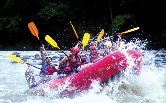 Whitewater Rafting at Davao River