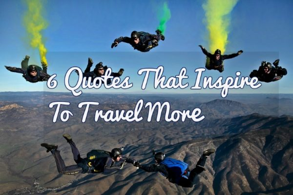 Travel quotes that inspire to go places.