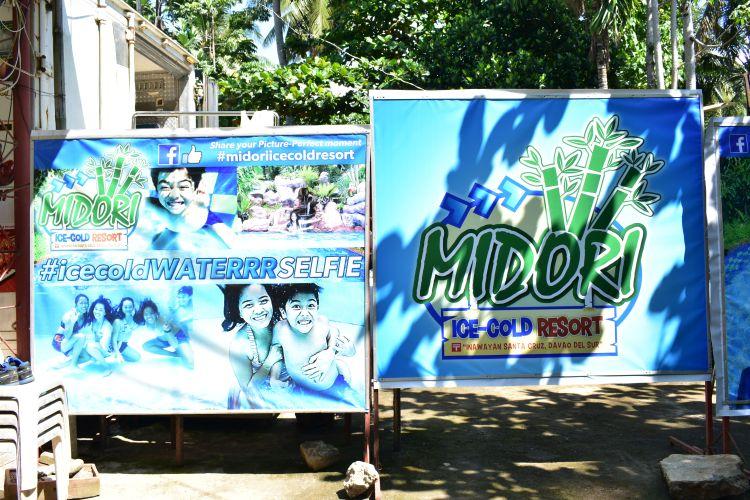 Midori Ice-Cold Resort - A swimming pool resort in Inawayan, Santa Cruz, Davao Del Sur