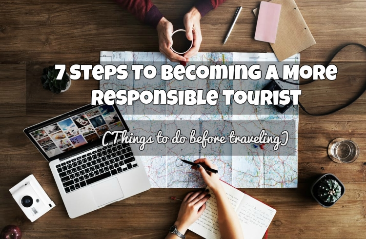 steps for a more responsible travel