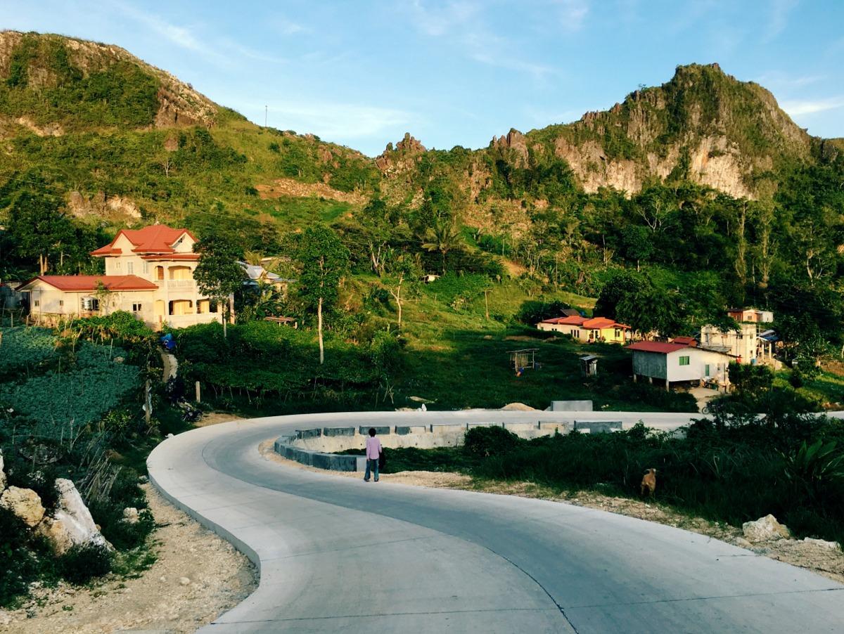 Mantalungon, Dalaguete Road