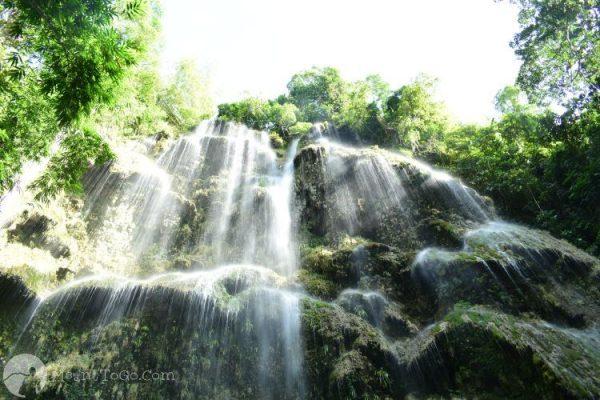 Tumalog Falls, Oslob, Cebu, Philippines