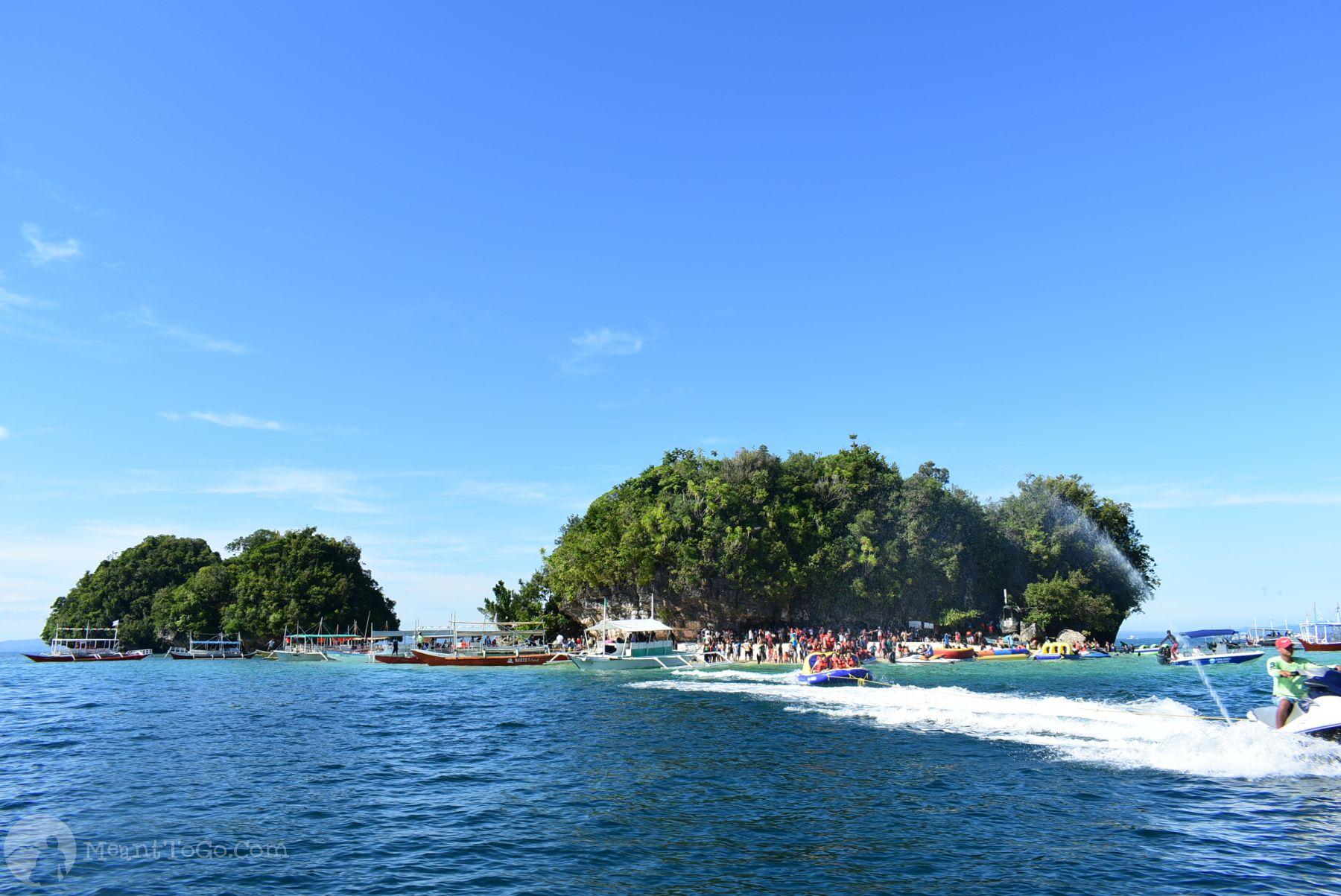 Island hopping in Britania, Surigao del Sur