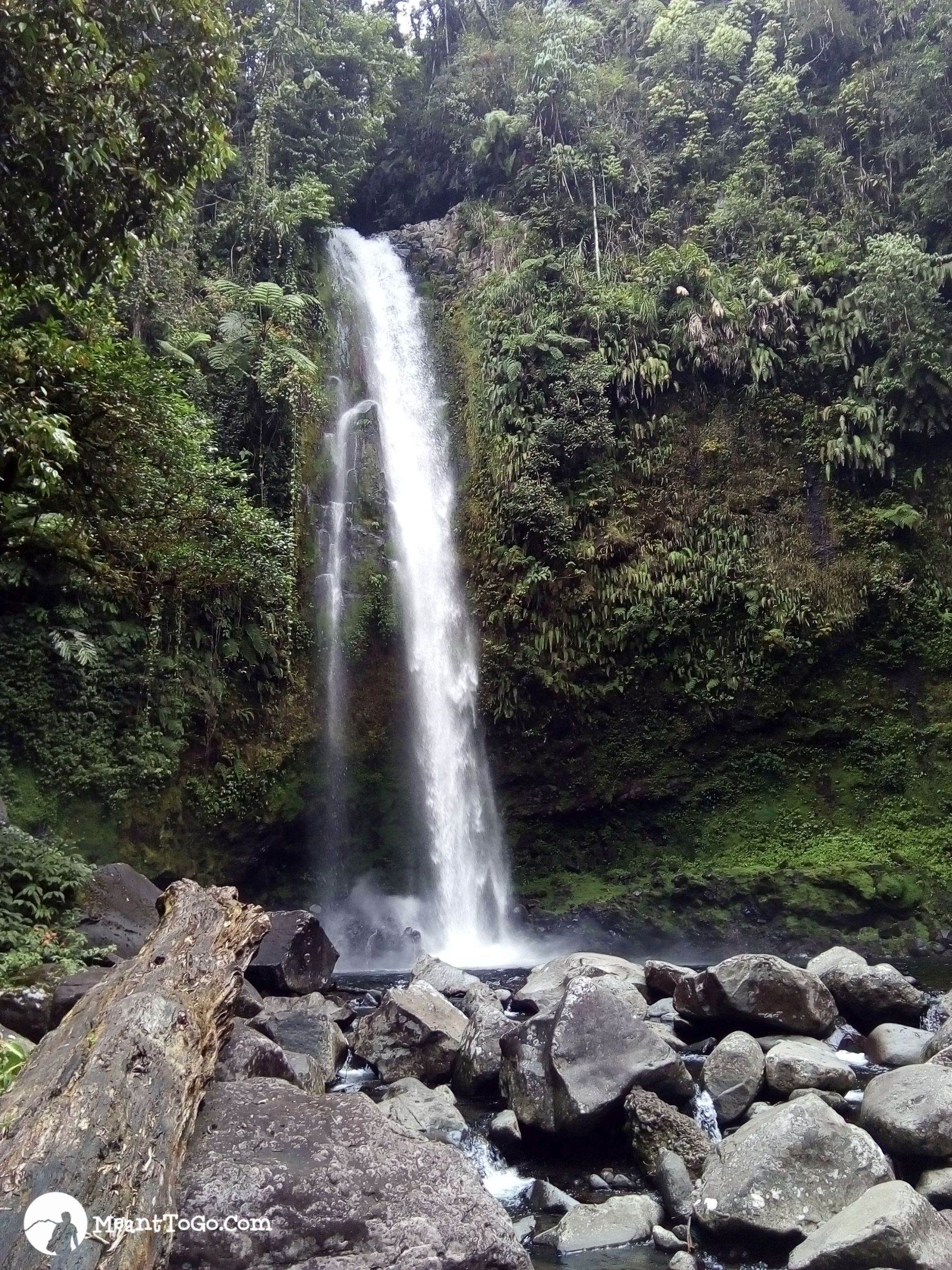 Sicao Falls, Tamayong, Calinan, Davao City