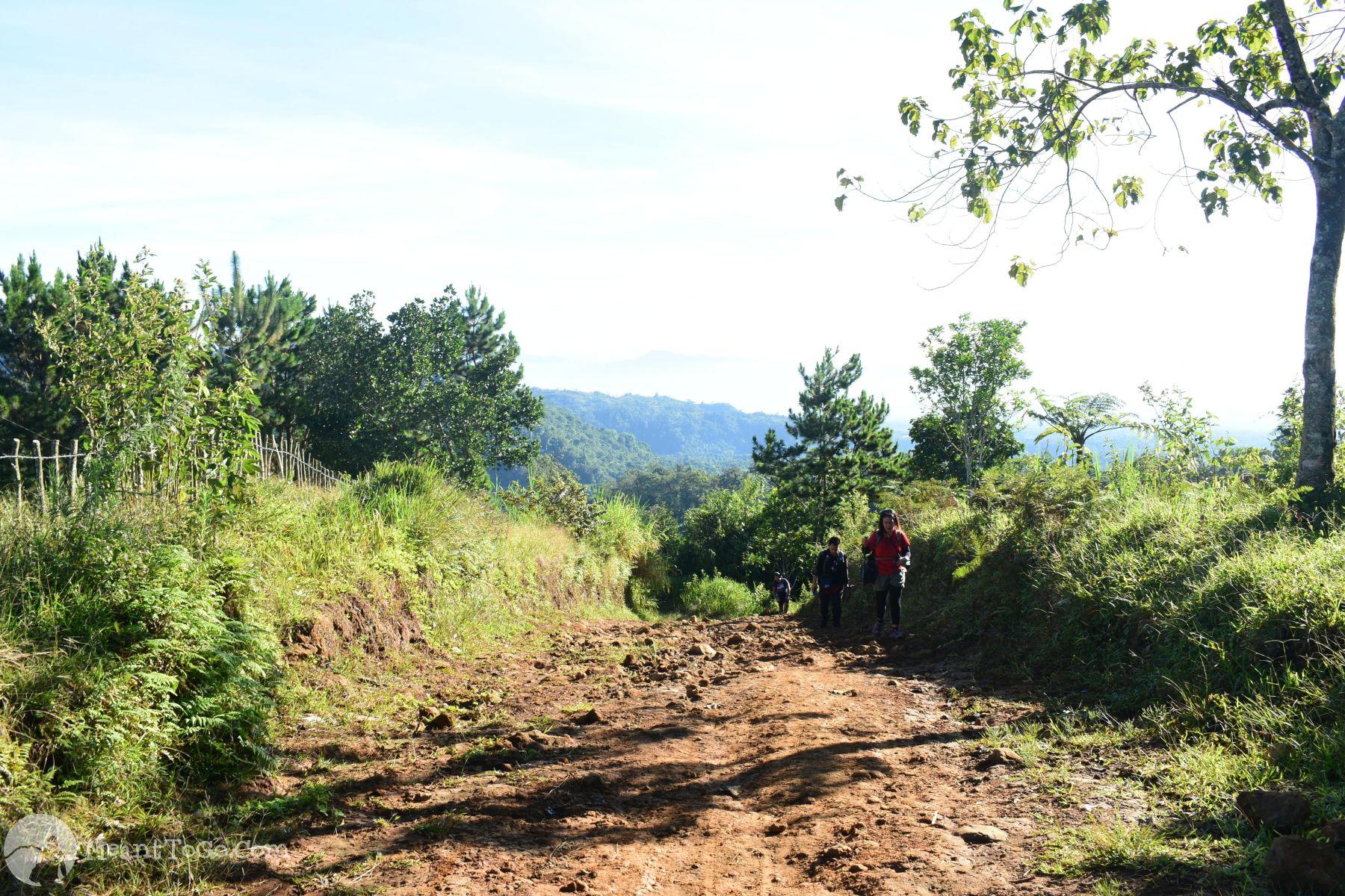 Sicao Falls trek, Tamayong, Calinan, Davao City