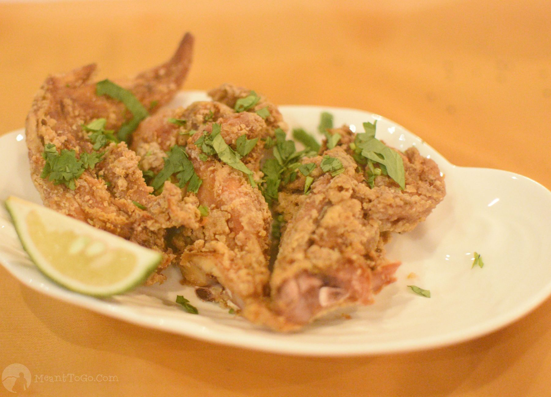 Masala Chicken Wings served at the 5S Box Indian Restaurant