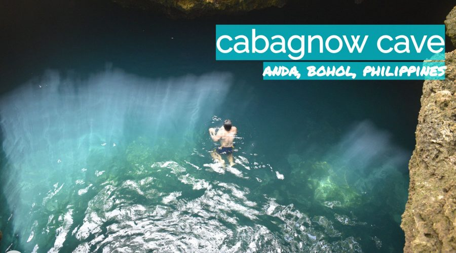 Cabagnow Cave in Anda, Bohol, Philippines