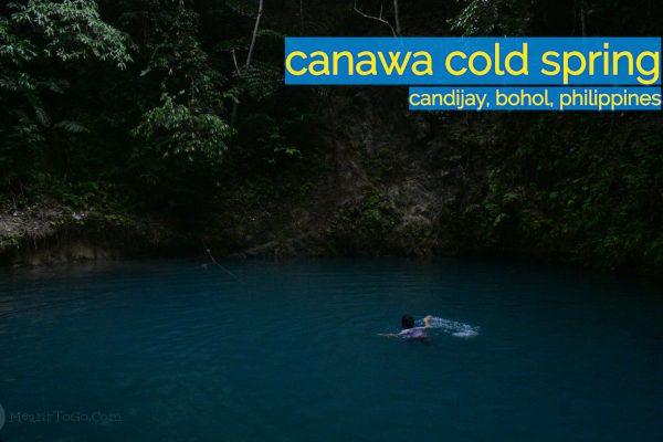 Canawa cold spring, bohol