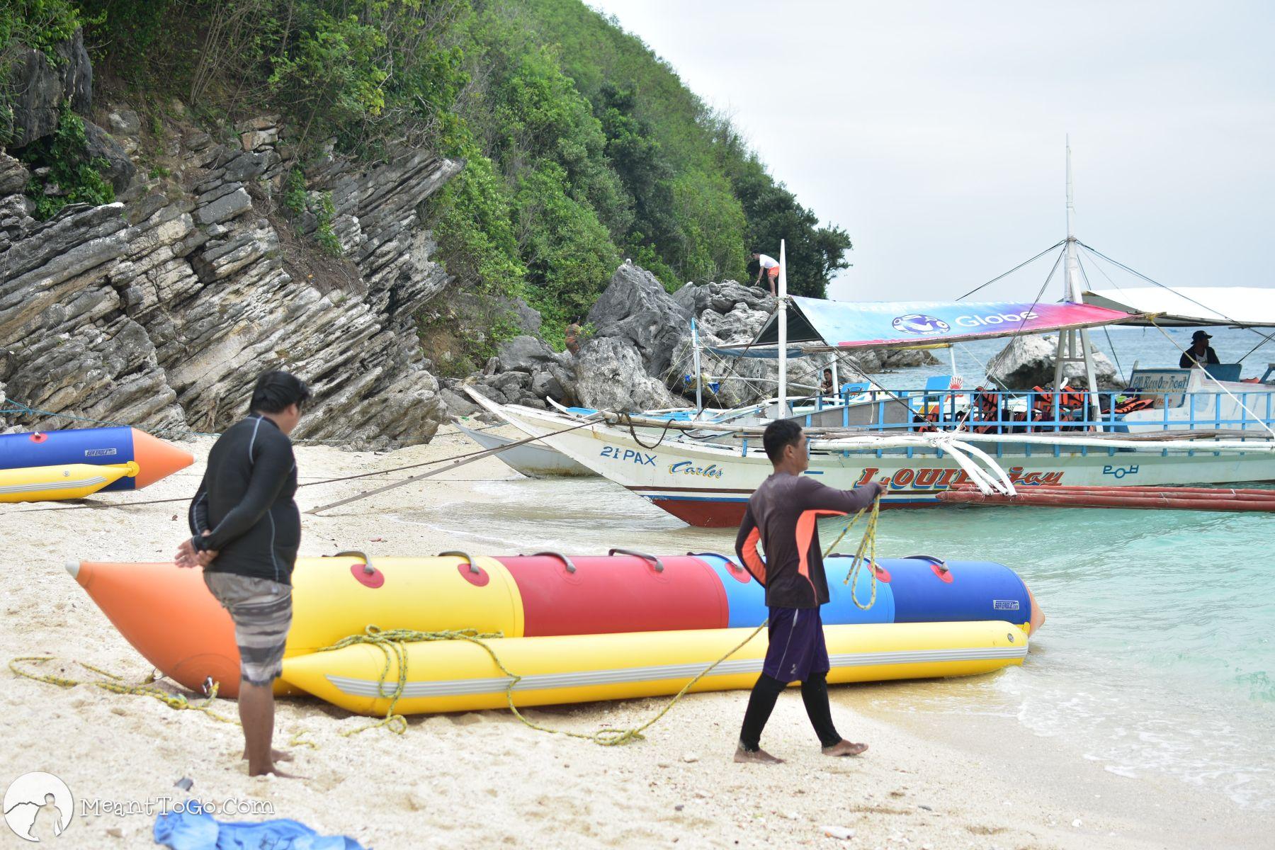 Banana Boat Ride, Islas de Gigantes