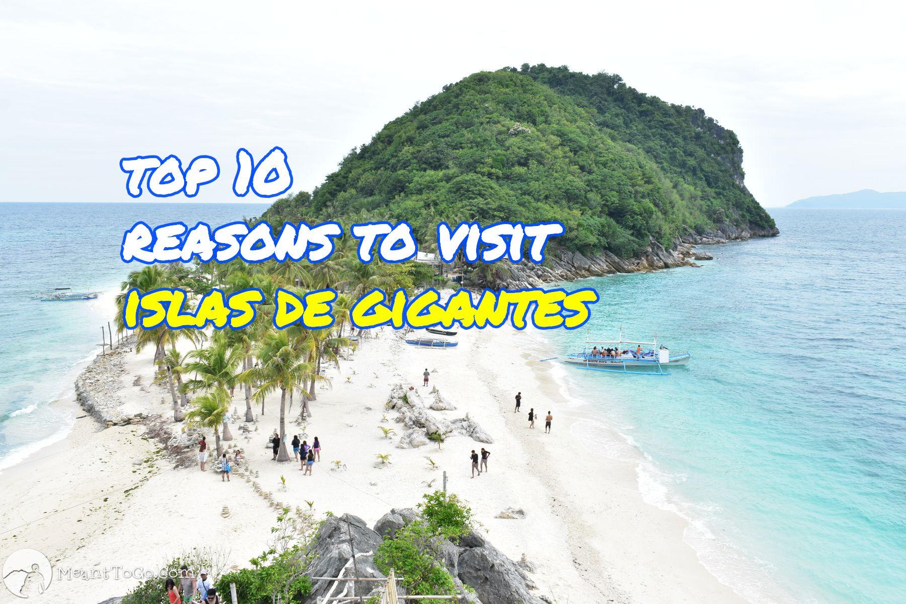 cabugaw gamay, Islas de Gigantes