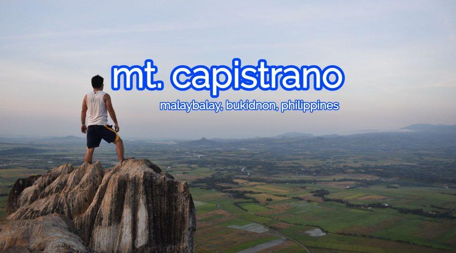 Mt. Capistrano, Malaybalay, Buikidnon, Philippines