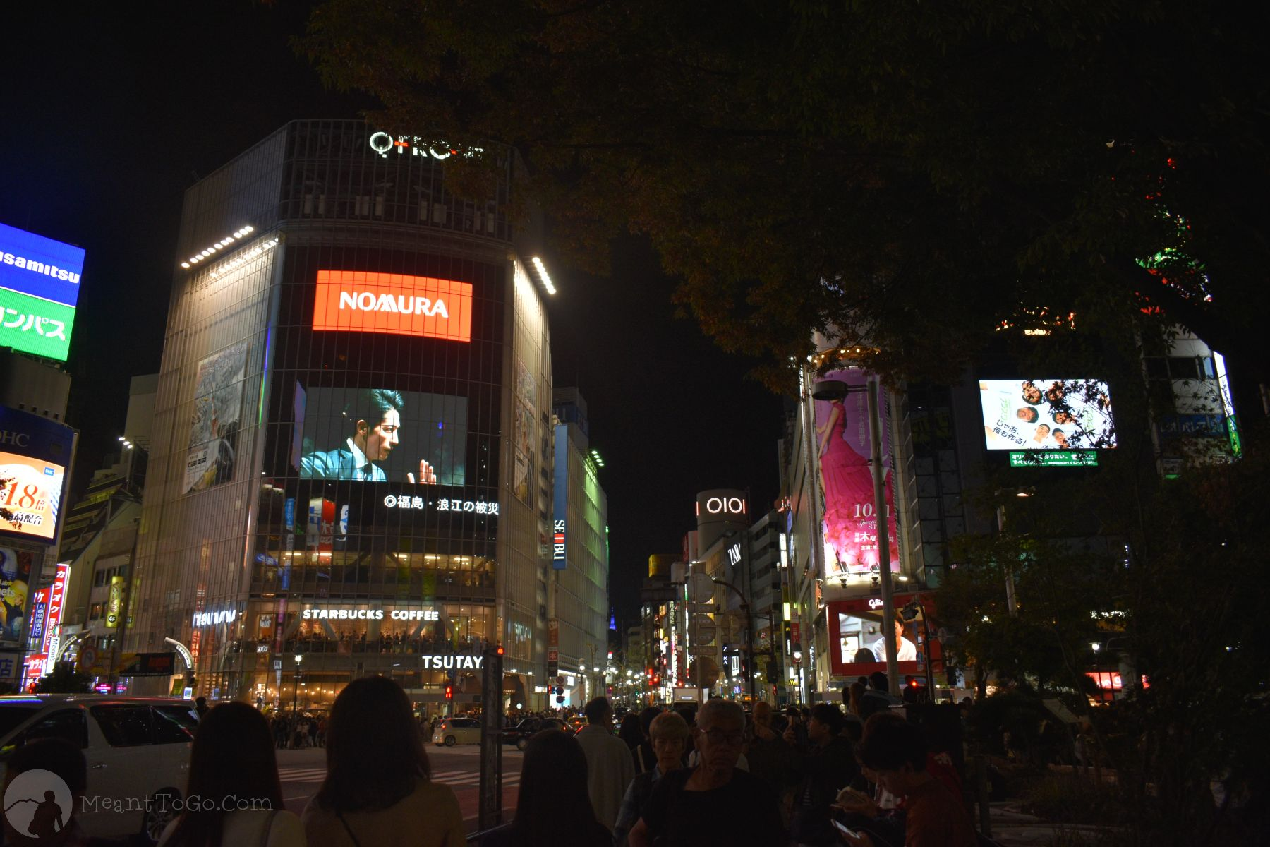 Shibuya Crossing - Shibuya, Tokyo, Japan