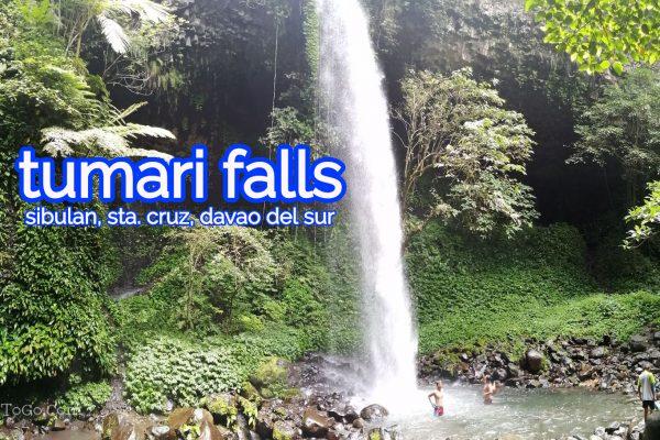 Tumari Falls, Sibulan, Sta. Cruz, Davao del Sur