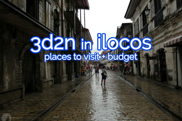 ilocos travel guide - places to visit and budget