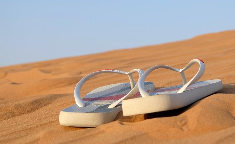 Flip-flops for travel