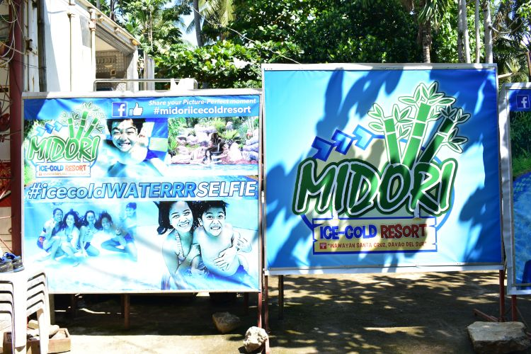 Midori Ice-Cold Resort - A swimming pool resort in Inawayan, Santa Cruz, Davao Del Sur