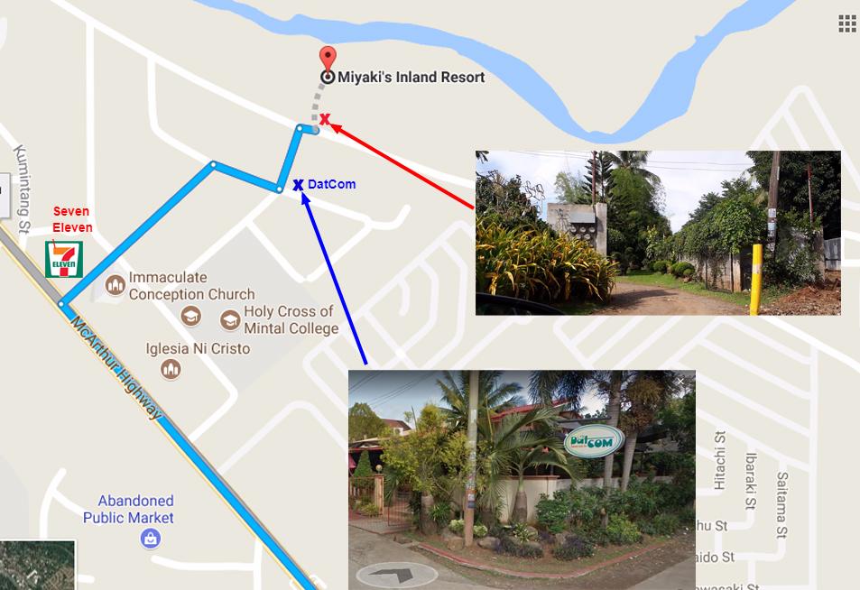 Miyaki's Inland Resort location
