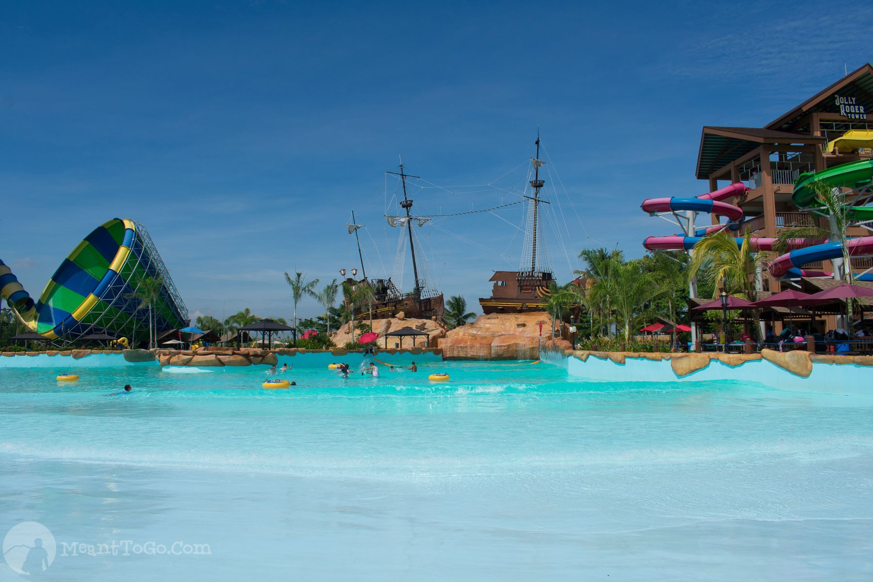 Buccaneer Bay, Seven Seas Waterpark & Resort, Opol, Misamins Oriental