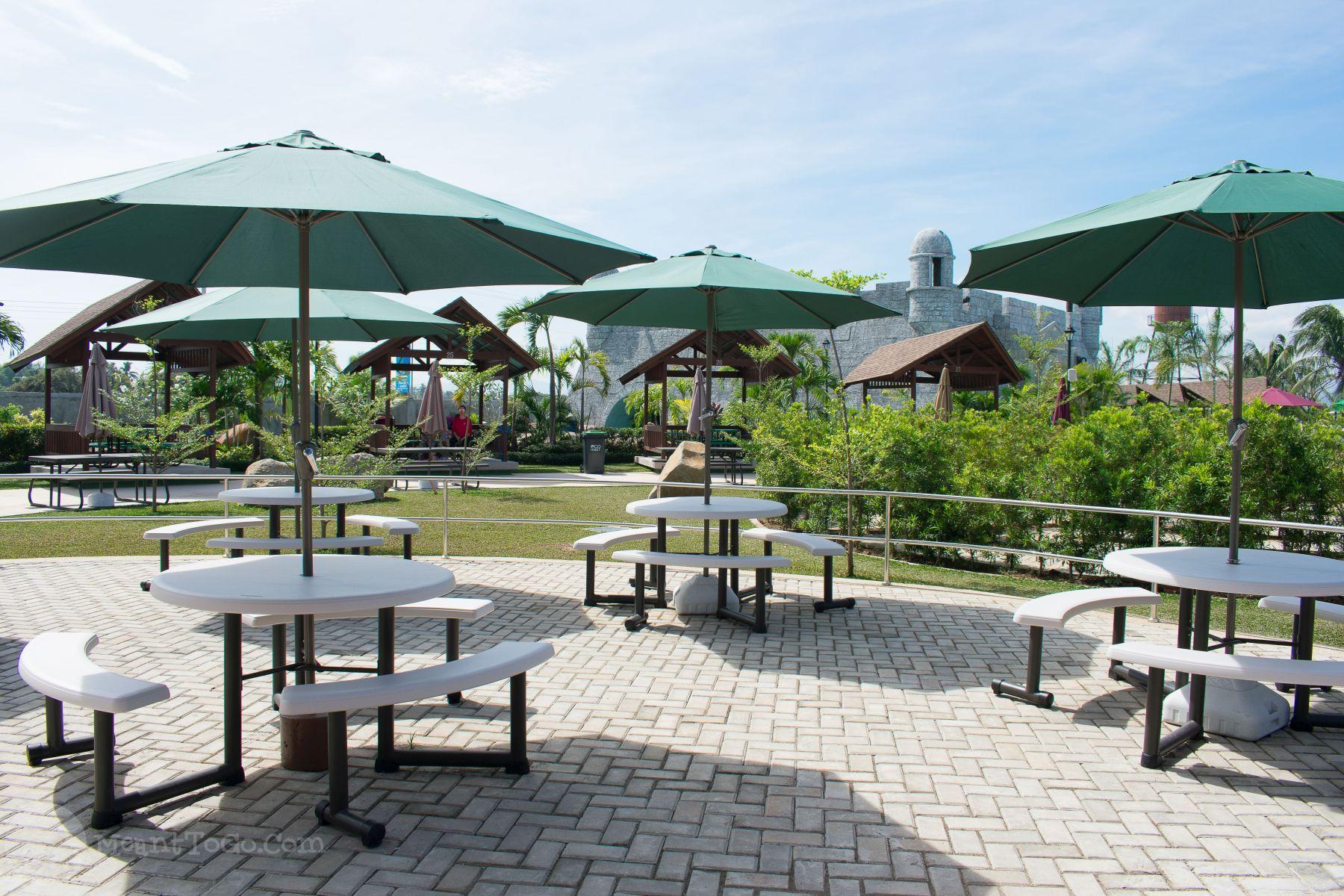 Umbrella Collages, Seven Seas Waterpark & Resort, Opol, Misamins Oriental