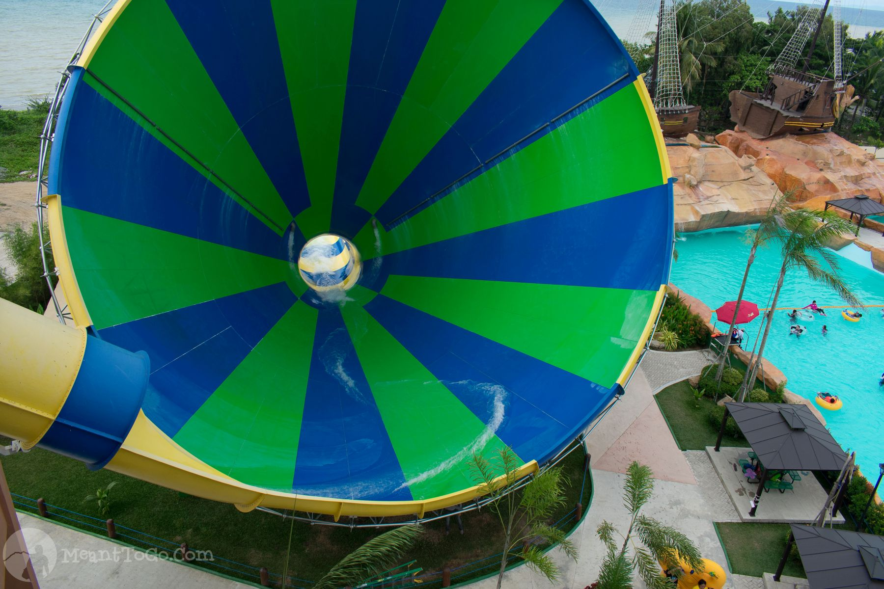 Cyclone Slide at Seven Seas Waterpark & Resort