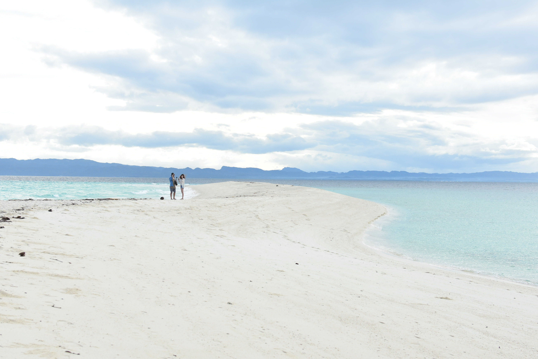 Sandbar in Kalanggaman Island, Leyte
