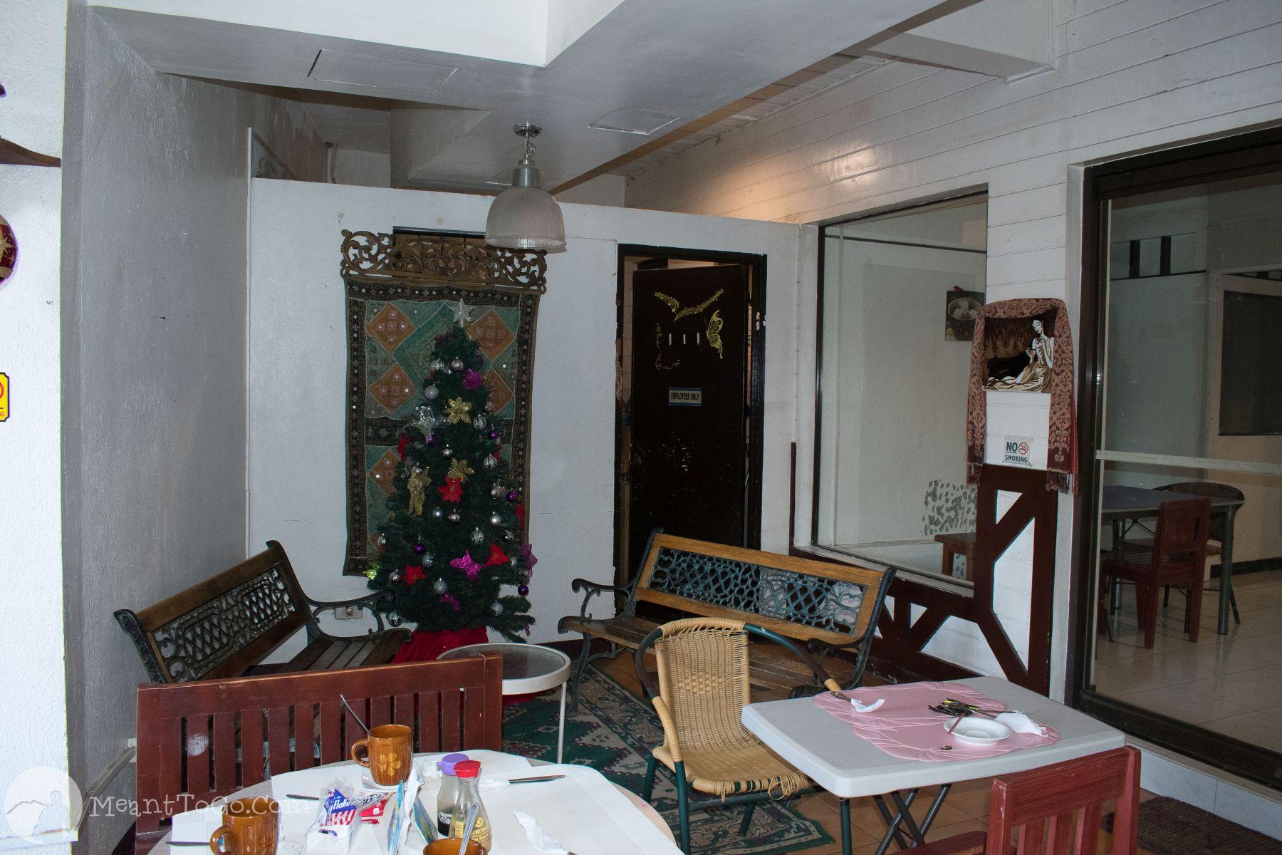 St. Nicolas Inn's dining area, Cagayan de Oro