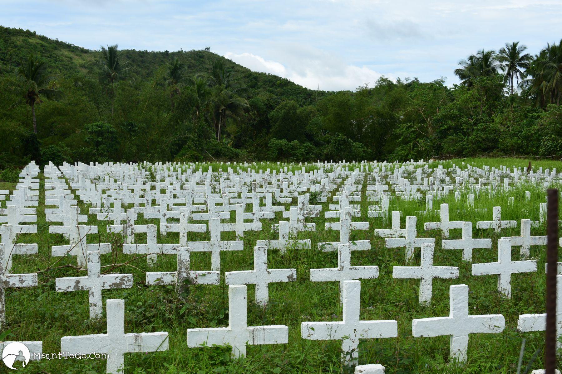 Mass Grave at Holy Cross Memorial Garden, Tacloban City, Philippines