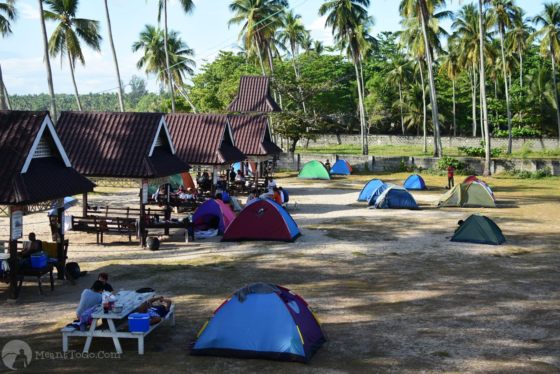 Menzi Beach Park & Campsite, Dahican, Davao Oriental