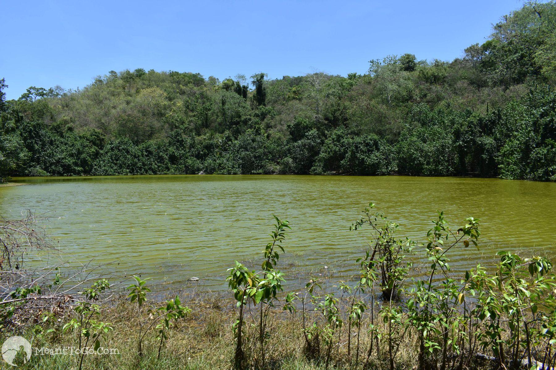 Lake in Pujada Island, Mati, Davao Oriental