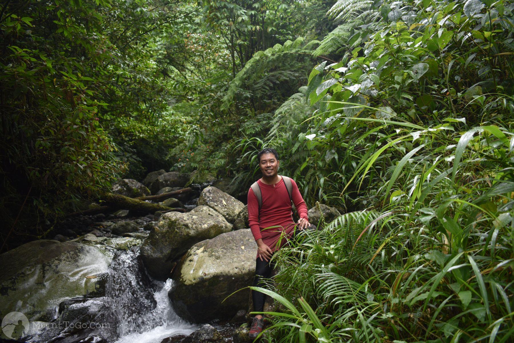 River along the trail going to Sicao Falls, Tamayong, Calinan, Davao City