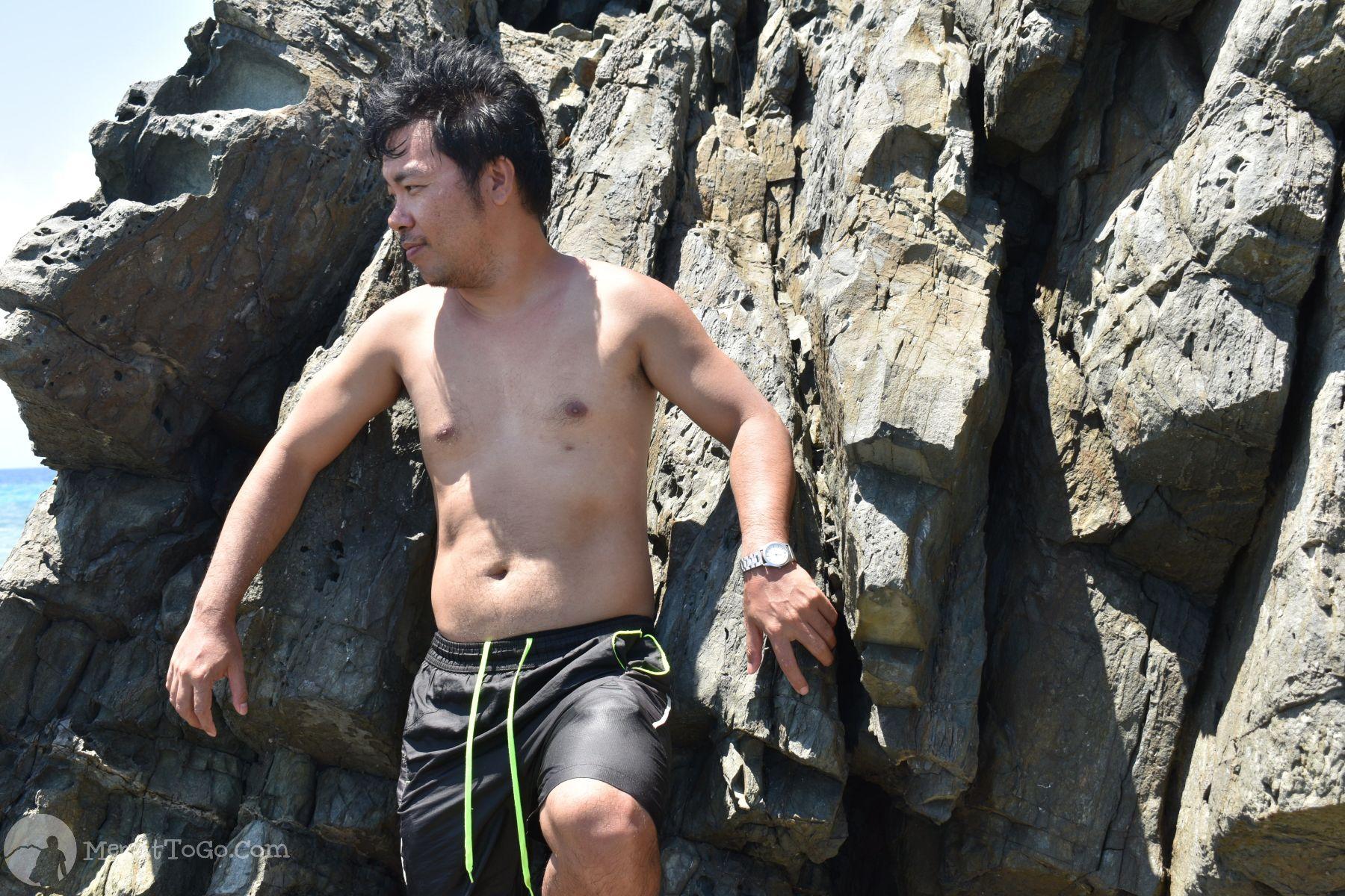 Rock formations at Wanniban Island, Mati, Davao Oriental