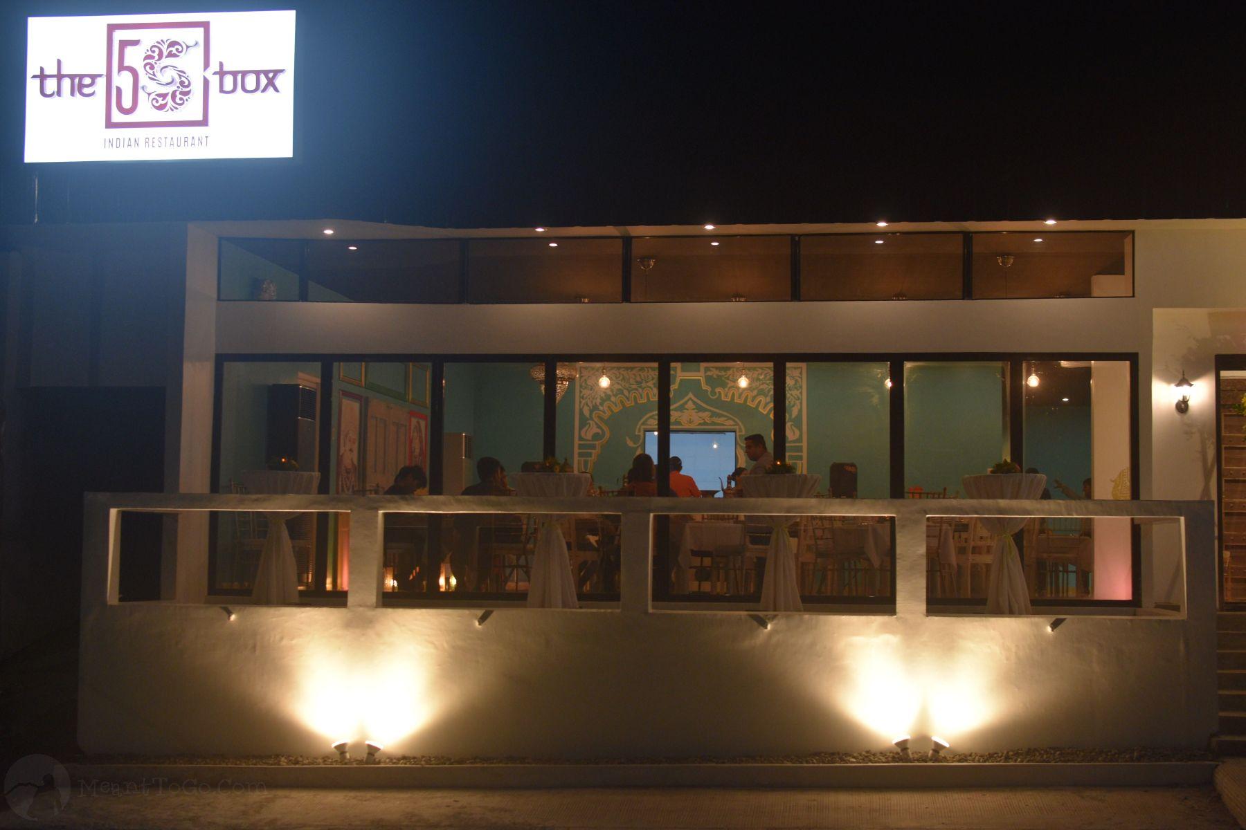 5S Box Indian Restaurant in Davao City