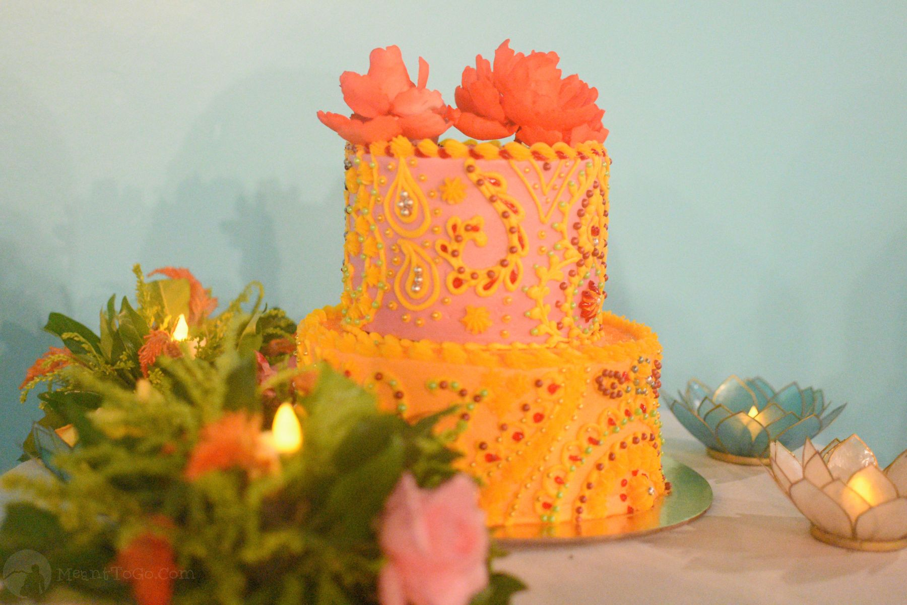 Cake served at 5S Box Indian Restaurant in Davao City