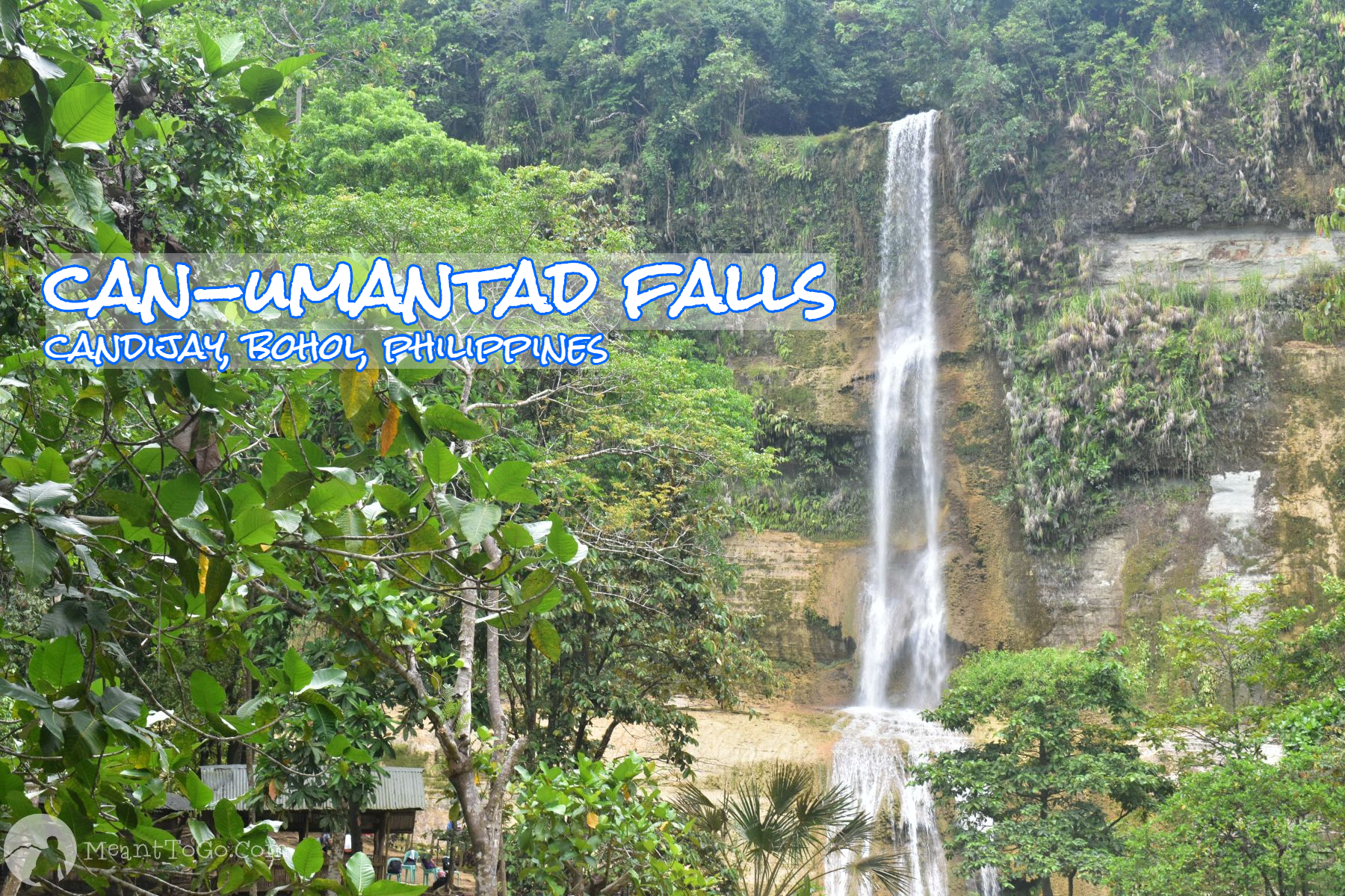 Can-umantad Falls - a waterfall in Candijay, Bohol, Philippines