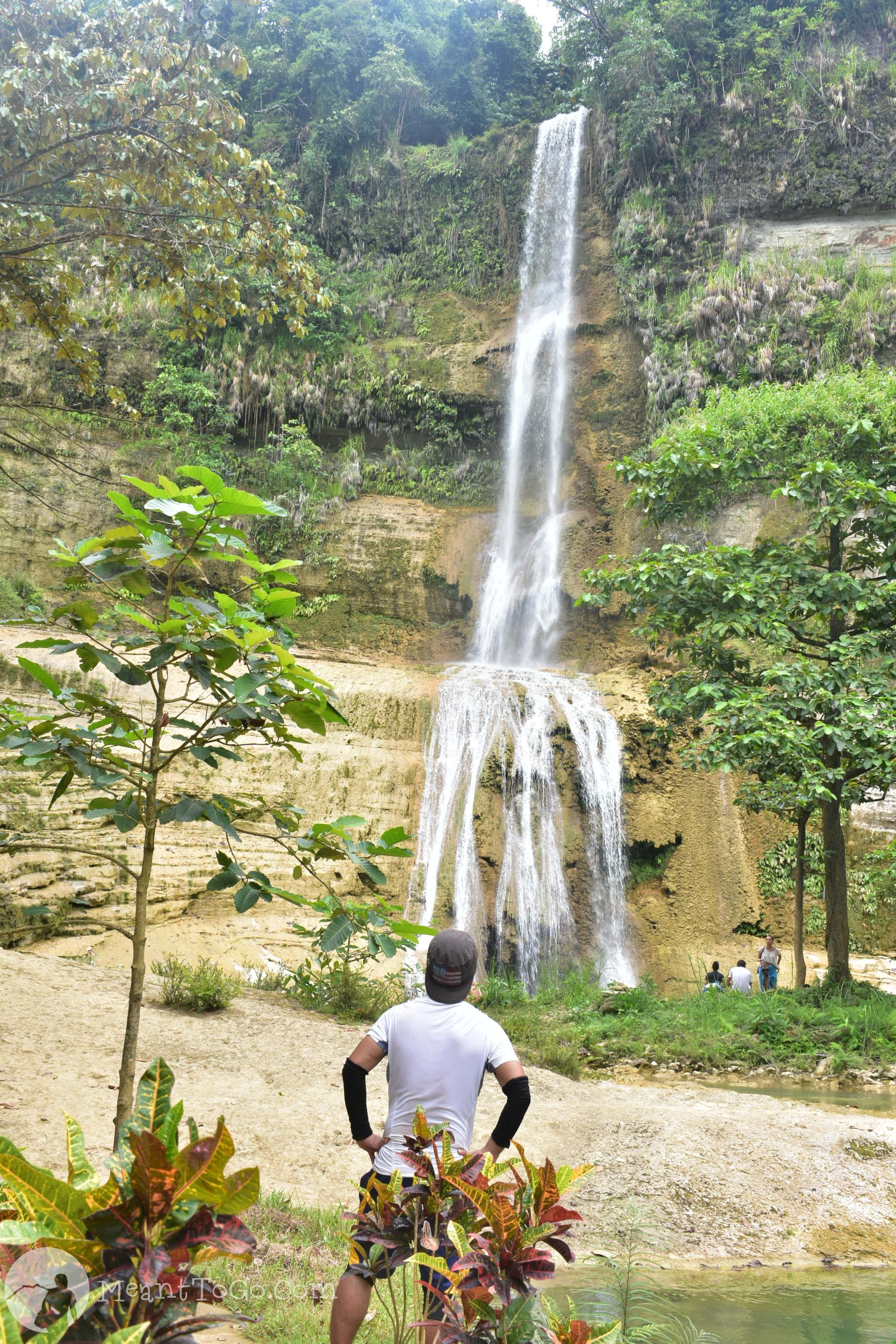 Can-umantad Falls in Candijay, Bohol, Philippines