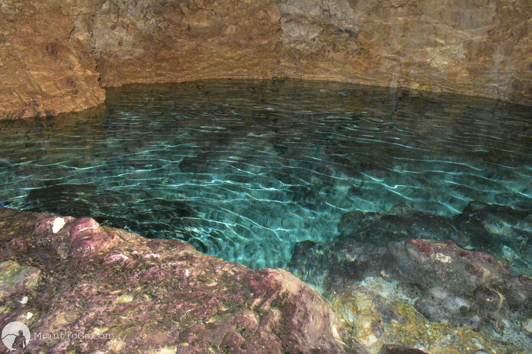 Combento Cave - A cave pool in Anda, Bohol, Philippines