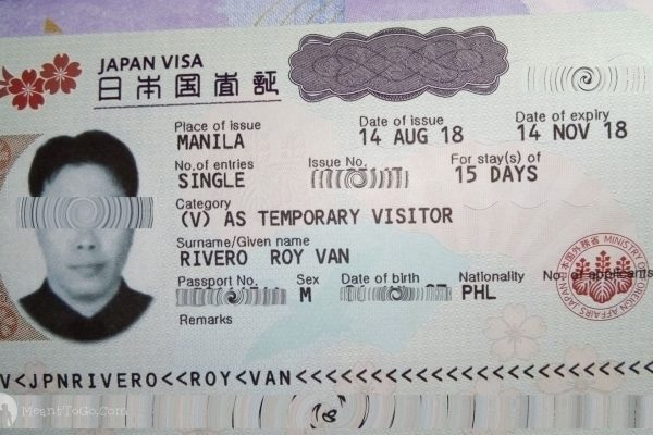 Japan Tourist Visa Application Guide