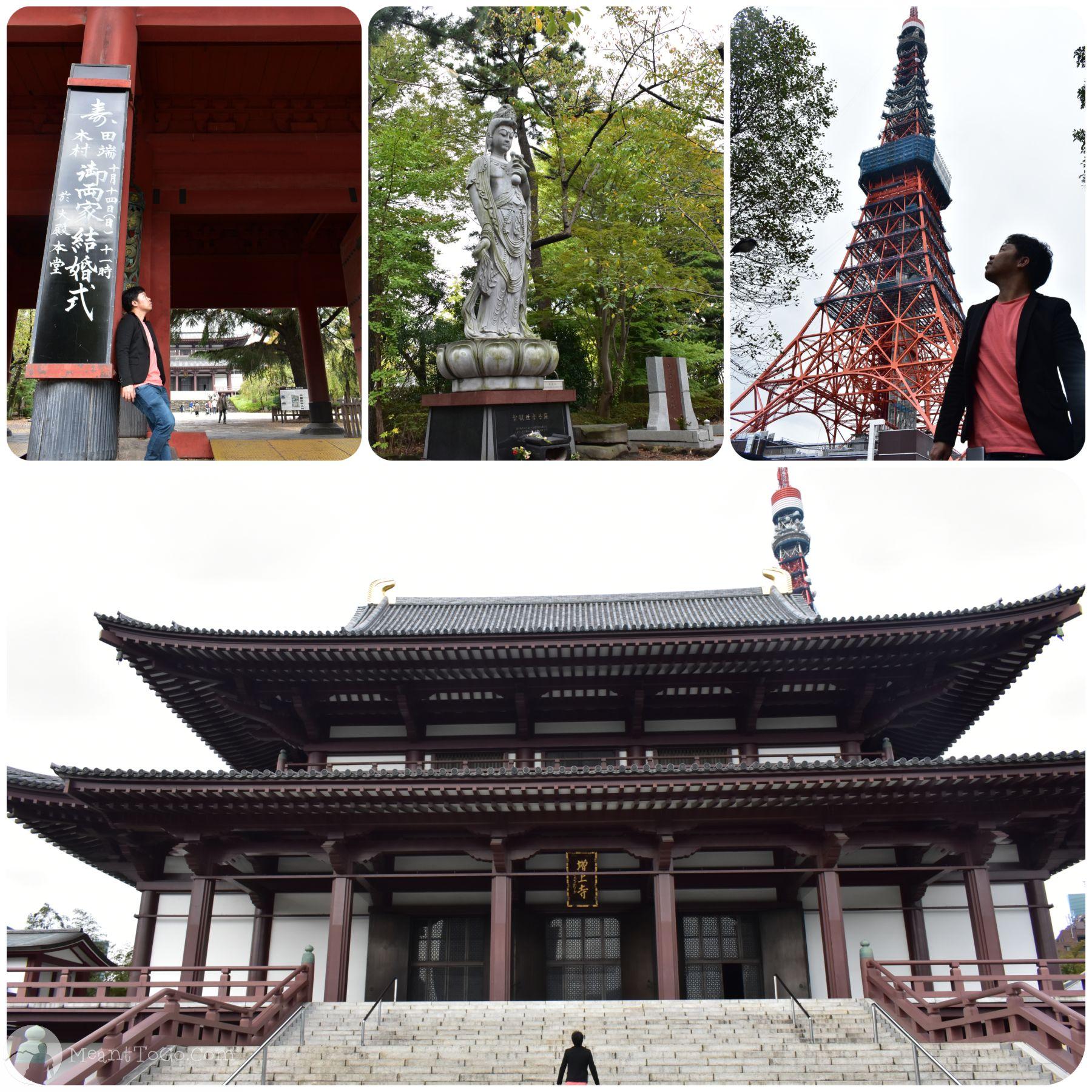 Minato - Tokyo Tower, Zojo-ji Temple