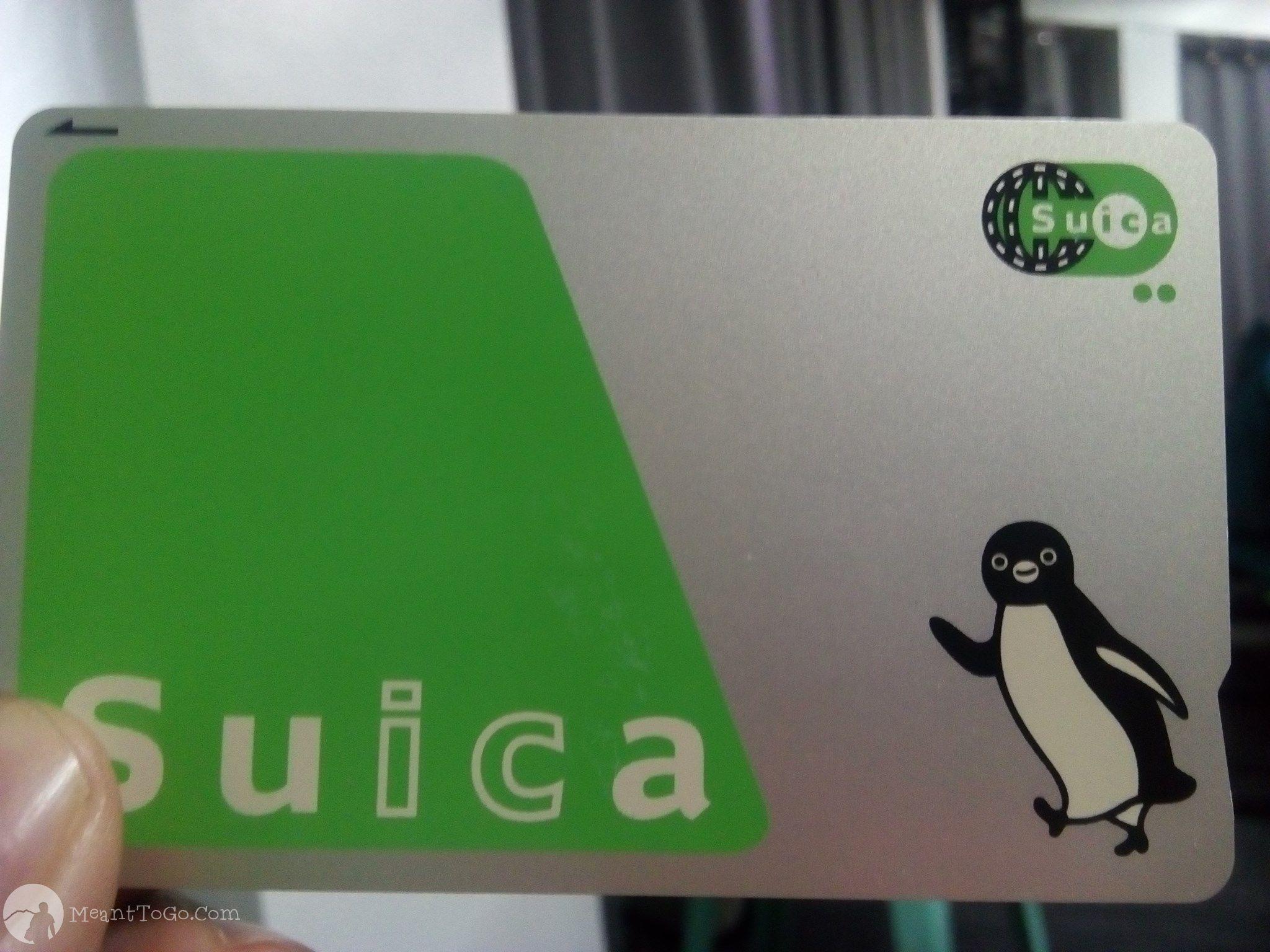 Suica - Japan prepaid card