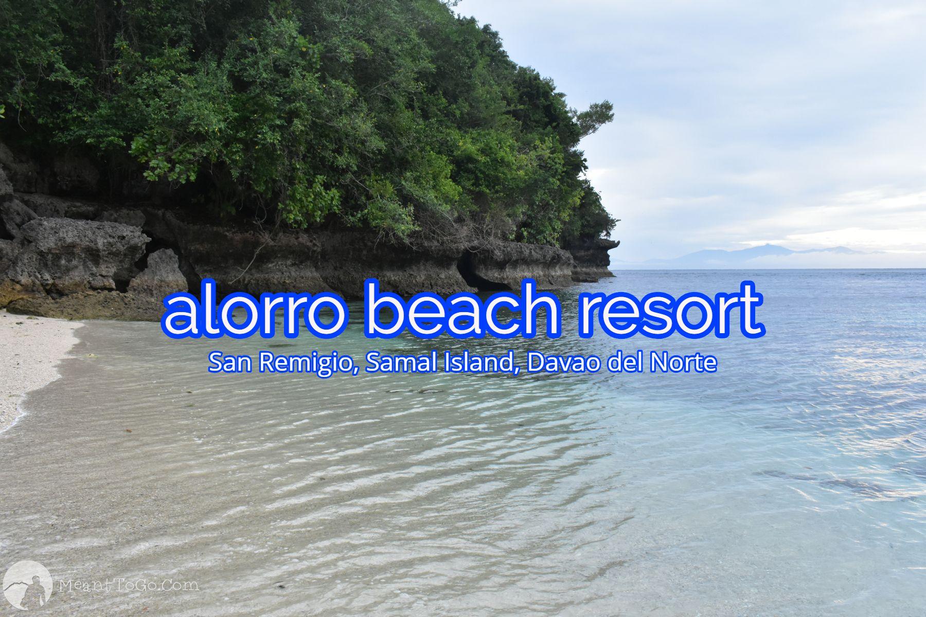 alorro beach resort, samal island, davao del sur