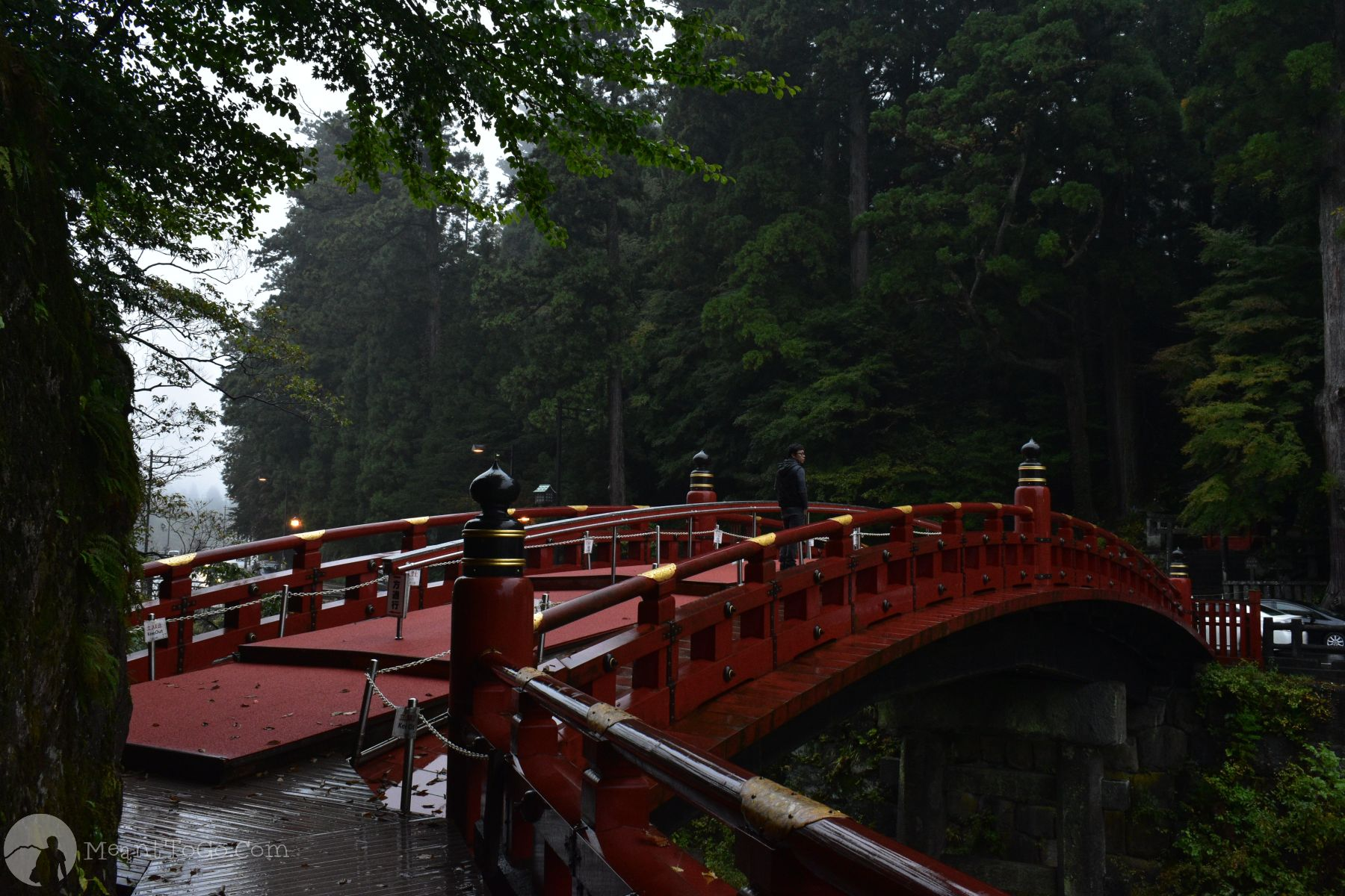 Shinkyo Bridge in Nikko, Tochigi, Japan