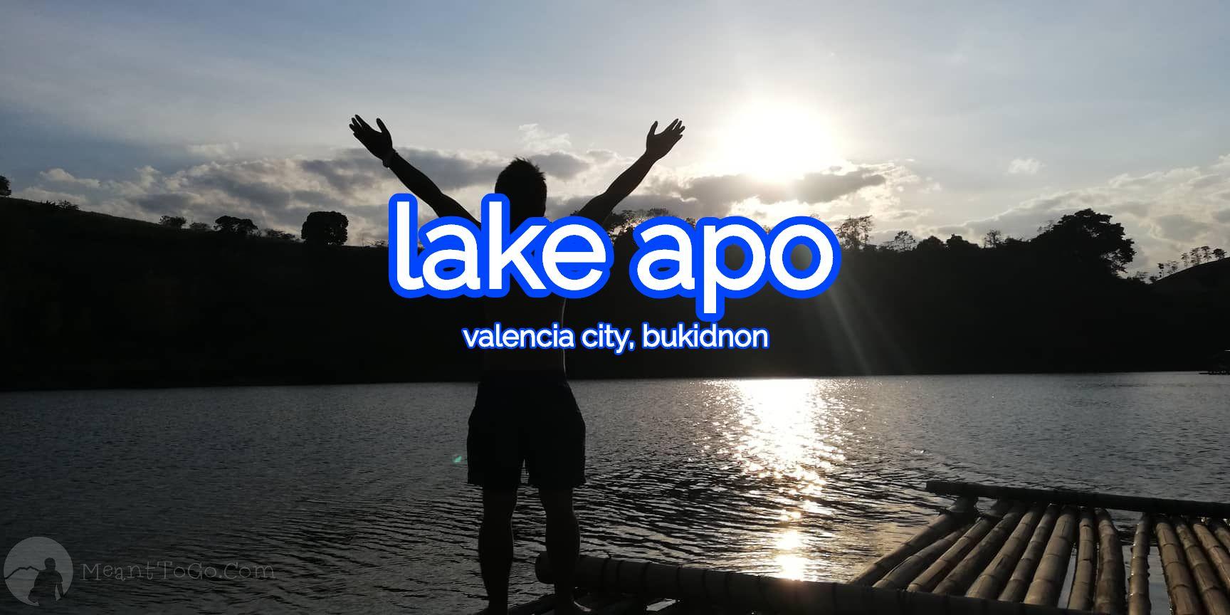 lake apo, valencia city, bukidnon