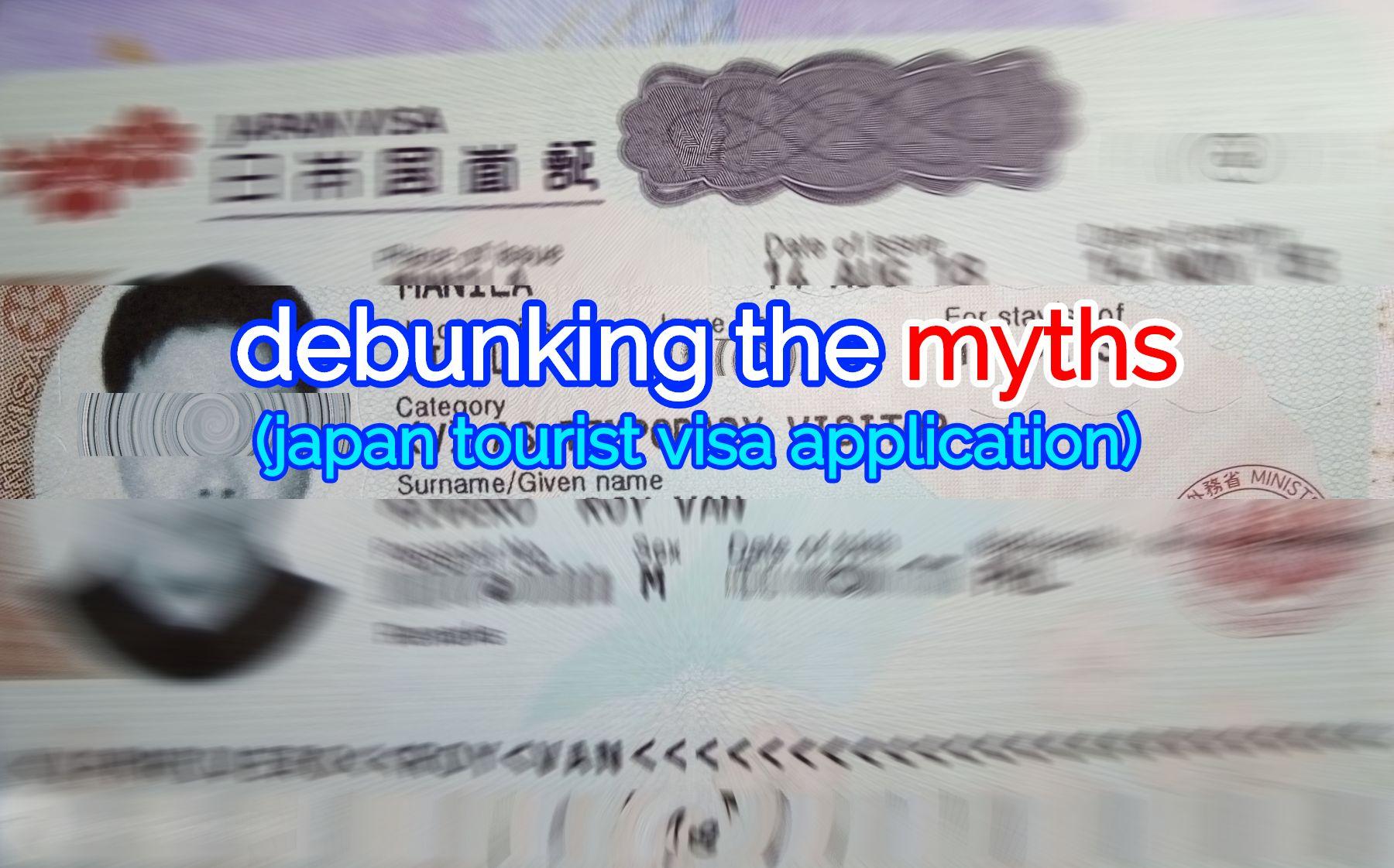 japan tourist visa requirements