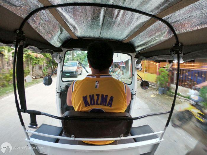 Bingo tricycle in Siargao