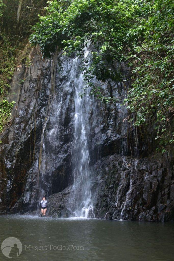Taktak Falls in Santa Monica, Siargao
