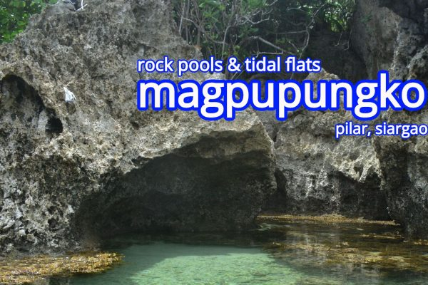 magpupungko rock pools and tidal flats