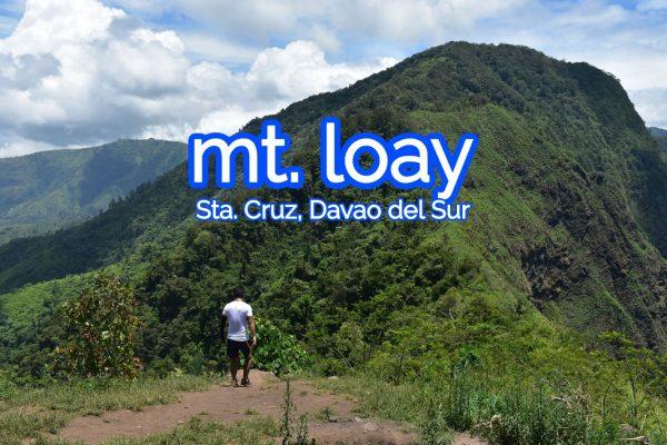 mount loay, santa cruz, davao del sur