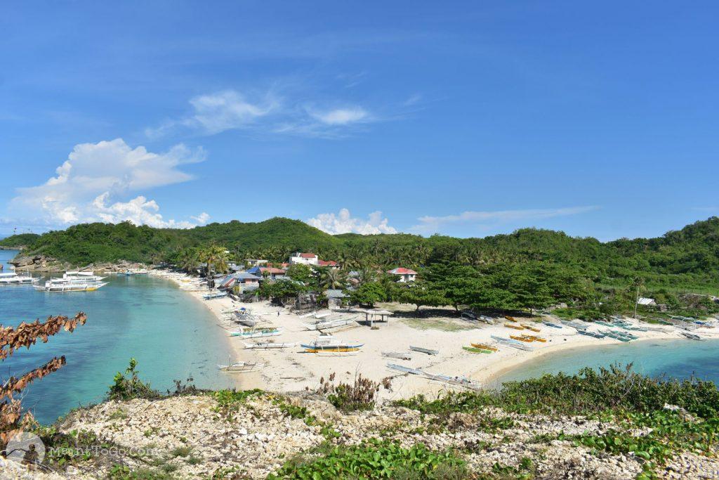 The Twin Beach at Carnaza Island