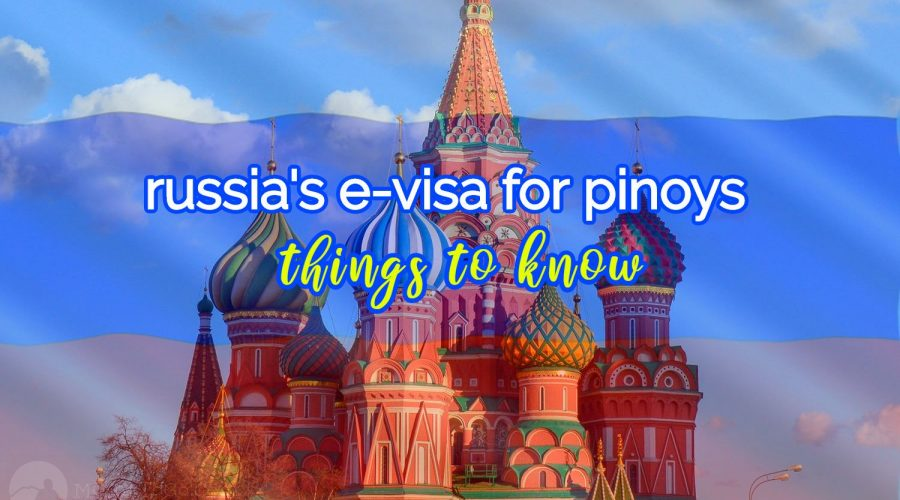 russia e-visa guide for filipinos