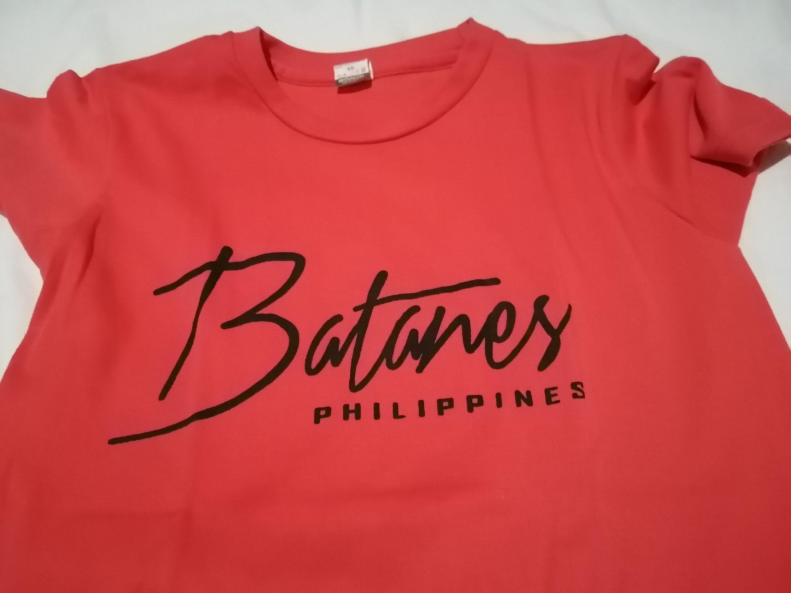 Batanes souvenir t-shirt